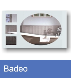 Bathroom mirror Badeo