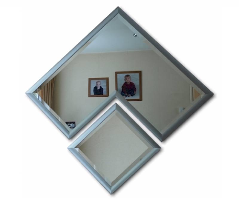 moderne design spiegel moderna 110x110cm design spiegel. Black Bedroom Furniture Sets. Home Design Ideas