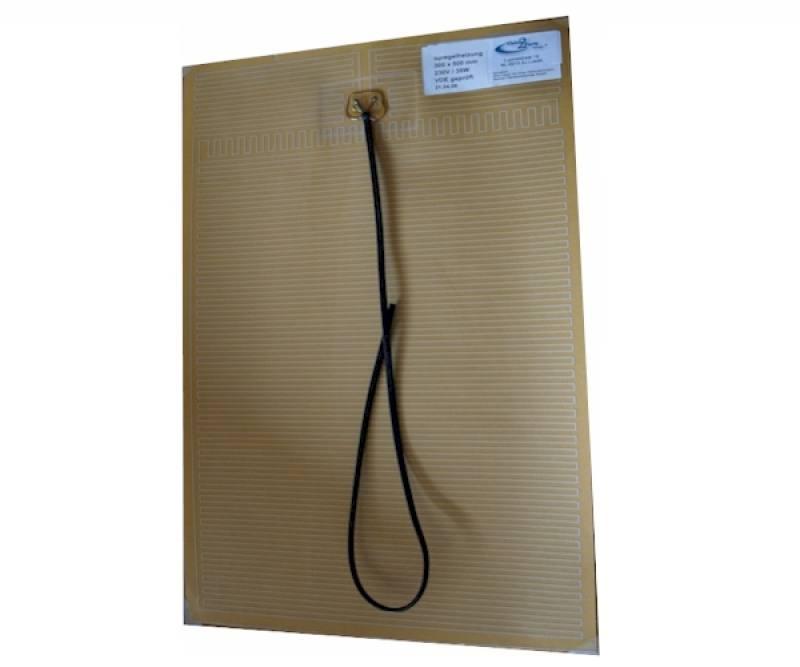 Spiegelverwarming VDE 12Volt 60x80cm - verwarmde badkamerspiegel
