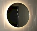 Bathroom mirrors LED round ...