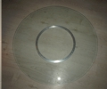 Lazy Susan 103cm diameter clear glass